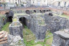 Roman Amphitheatre imagens de stock