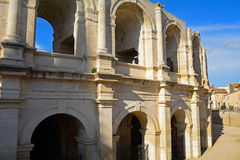Roman amphitheatre, Arles, France Royalty Free Stock Photo