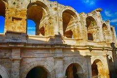 Roman amphitheatre, Arles, France Royalty Free Stock Photos