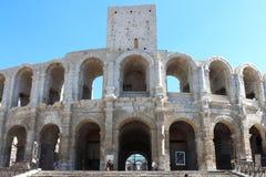 Roman amphitheatre in Arles, France Stock Photo