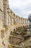Roman amphitheatre in Arles - UNESCO heritage in France Royalty Free Stock Photography