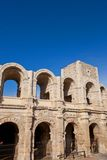 Roman amphitheatre (circa 90 AD). Arles, France Royalty Free Stock Image
