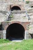 Roman Amphitheatre of Durres Royalty Free Stock Photos