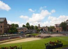 Roman Amphitheatre en Chester England Photo stock