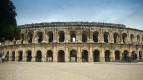 Roman Amphitheatre, France de Nîmes clips vidéos