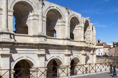 Free Roman Amphitheatre In Arles, France Royalty Free Stock Images - 104478579