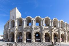 Free Roman Amphitheatre In Arles, France Royalty Free Stock Photo - 107281335