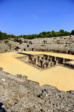 Roman Amphitheatre of Italica, Andalusia, Spain Royalty Free Stock Image