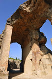 The Roman Amphitheatre of Italica, Andalusia, Spain Royalty Free Stock Image