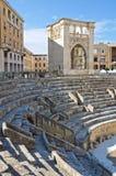 Roman Amphitheatre. Lecce. Puglia. Italy. Royalty Free Stock Image