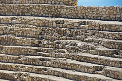 Roman Amphitheatre na cidade de Tarragona Imagens de Stock