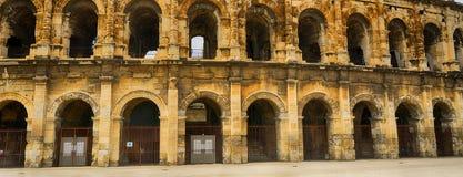 Roman amphitheatre, Nimes, France Stock Photo