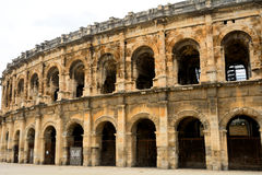 Roman amphitheatre, Nimes, France Stock Photos