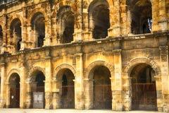 Roman amphitheatre, Nimes, France Stock Image