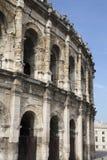 Roman Amphitheatre, Nimes. Roman Amphitheatre at Nimes, France, Europe Stock Photo
