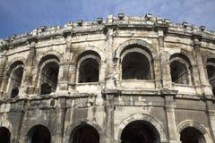 Roman Amphitheatre, Nimes Royalty Free Stock Photography