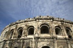 Roman Amphitheatre, Nimes Stock Image