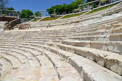 Roman amphitheatre in Plovdiv. Bulgaria Royalty Free Stock Images
