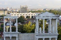 Roman amphitheatre Plovdiv, Bulgarije stock fotografie