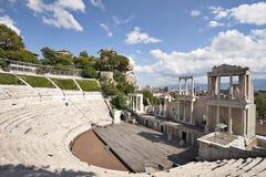 Roman amphitheatre Plovdiv Royalty Free Stock Photography