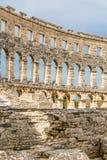 Roman Amphitheatre Pula Arena-Pula,Istria, Croatia Royalty Free Stock Photo