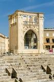 The Roman amphitheatre in Sant'Oronzo square, Lecce, Salento, It Royalty Free Stock Photo