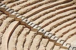 Roman Amphitheatre Spanien Royaltyfri Bild