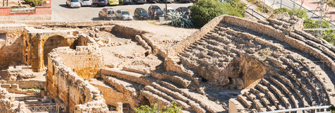 Roman Amphitheatre in Tarragona Spain Stock Photography