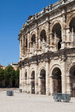 Roman Amphitheatre von Nimes Stockfoto