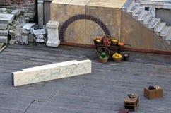 Roman amphitheatrestadium royalty-vrije stock fotografie