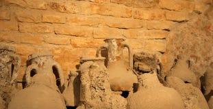 Roman amphora, Arena (colosseum)  in Pula, Croatia Royalty Free Stock Images