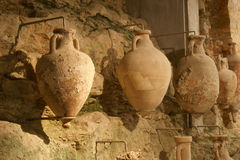 Roman amphora, Arena (colosseum)  in Pula, Croatia Stock Photos