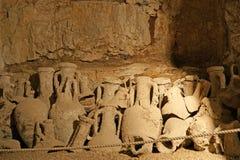 Roman amphora, Arena (colosseum)  in Pula, Croatia Royalty Free Stock Photo