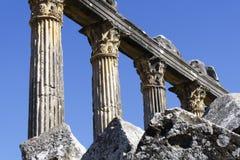 Roman ancient details in turkey anatolia. Ancient Greek Temple At Anatolia Stock Photos