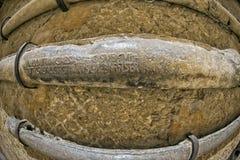 Roman ancient lead pipe Stock Image