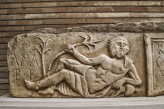 Roman ancient sculpture Royalty Free Stock Images