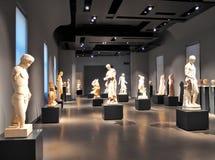 Roman Ancient Statues, Roma Italia Fotografie Stock Libere da Diritti