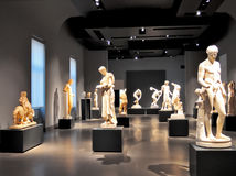 Roman Ancient Statues, Roma Itália Fotos de Stock