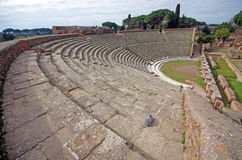 Roman ancient theater Royalty Free Stock Images