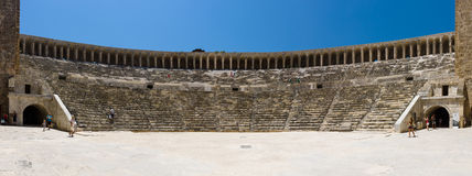 The Roman ancient theater. Royalty Free Stock Photo