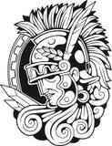 Roman Antique Warrior, illustrazione del profilo, immagine di vettore illustrazione vettoriale