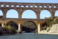 Roman Aquaduct stock afbeelding