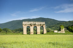 Roman Aquaduct Royalty-vrije Stock Foto