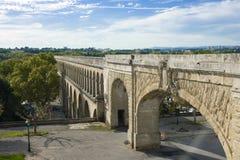 Roman aquaduct Royalty Free Stock Photo