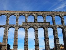 Roman Aquaduct Royalty Free Stock Images