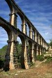 Roman Aquaduct, Tarragona, Spanje Royalty-vrije Stock Foto's