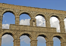 Roman aqueduct Royalty Free Stock Photography