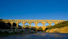 Roman aqueduct Stock Images