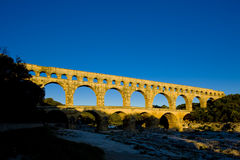 Roman aqueduct Stock Photo