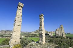 Roman aqueduct Royalty Free Stock Photos